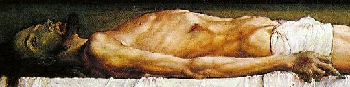 Holbein the Younger, dead body of Christ